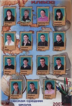Выпуск 2007г.
